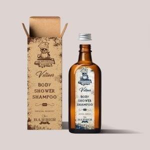 plastic-free shampoo shower